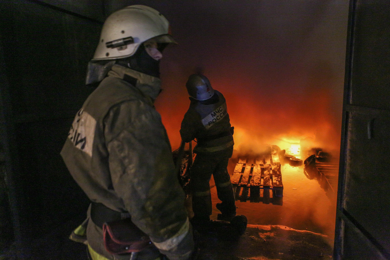 ВЙошкар-Оле впожаре умер хозяин кафе