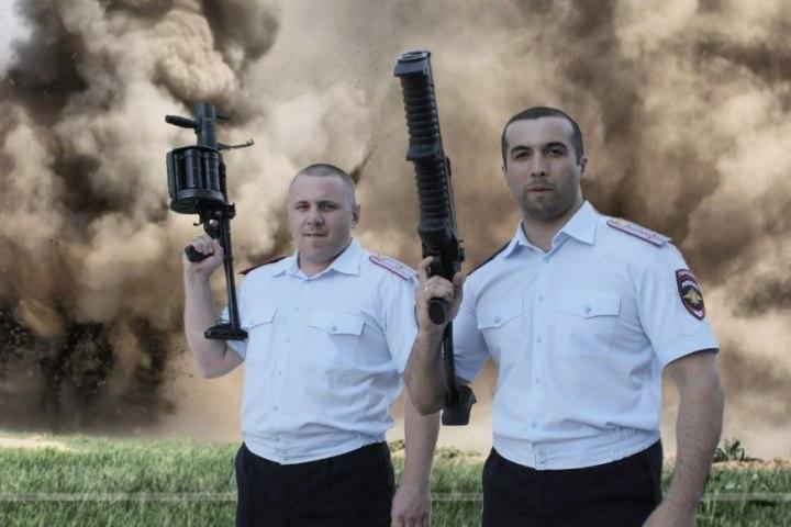 Пермские полицейские записали 1-ый музыкальный рэп-альбом