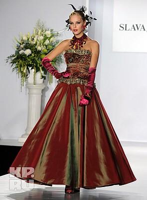 Фото вечерние платья зайцева