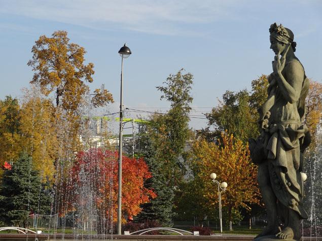тюмень фото осень