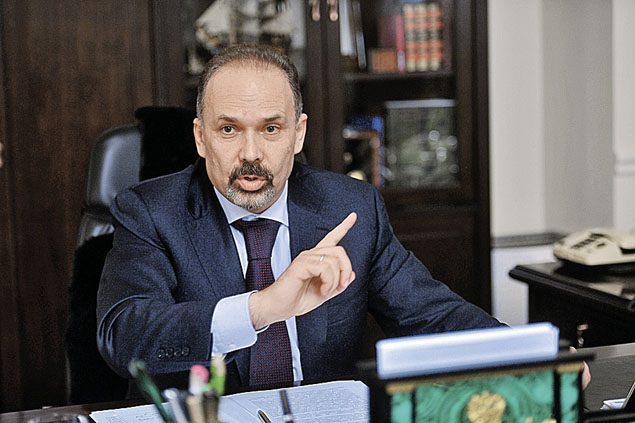 Глава Минстроя Михаил Мень. Фото: Евгения ГУСЕВА