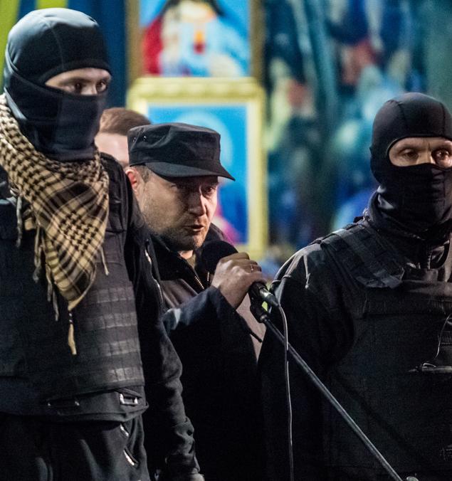 Атака против России на Украине 22 февраля 2014 года. Это был поворотный момент Фото: РИА Новости