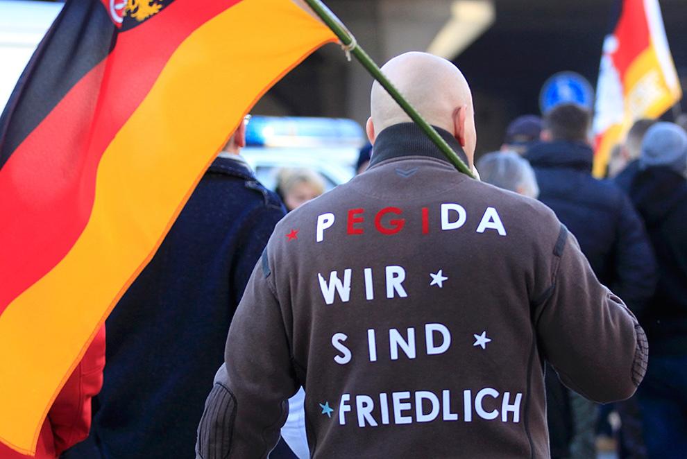 Первыми забили тревогу в восточной Германии, где и возникла организация «Пегида» Фото: REUTERS