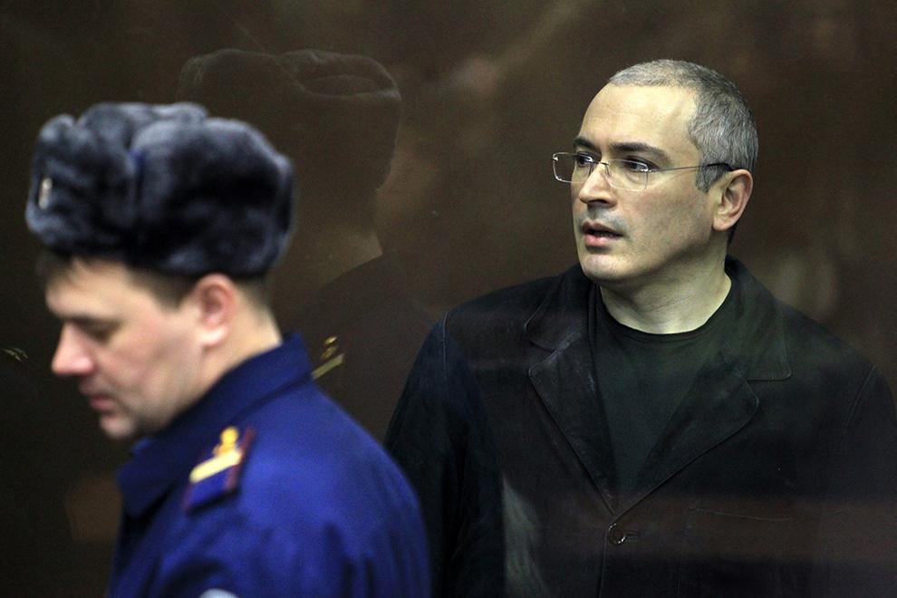 Между тем, Михаил Ходорковский находится в международном розыске Фото: РИА Новости