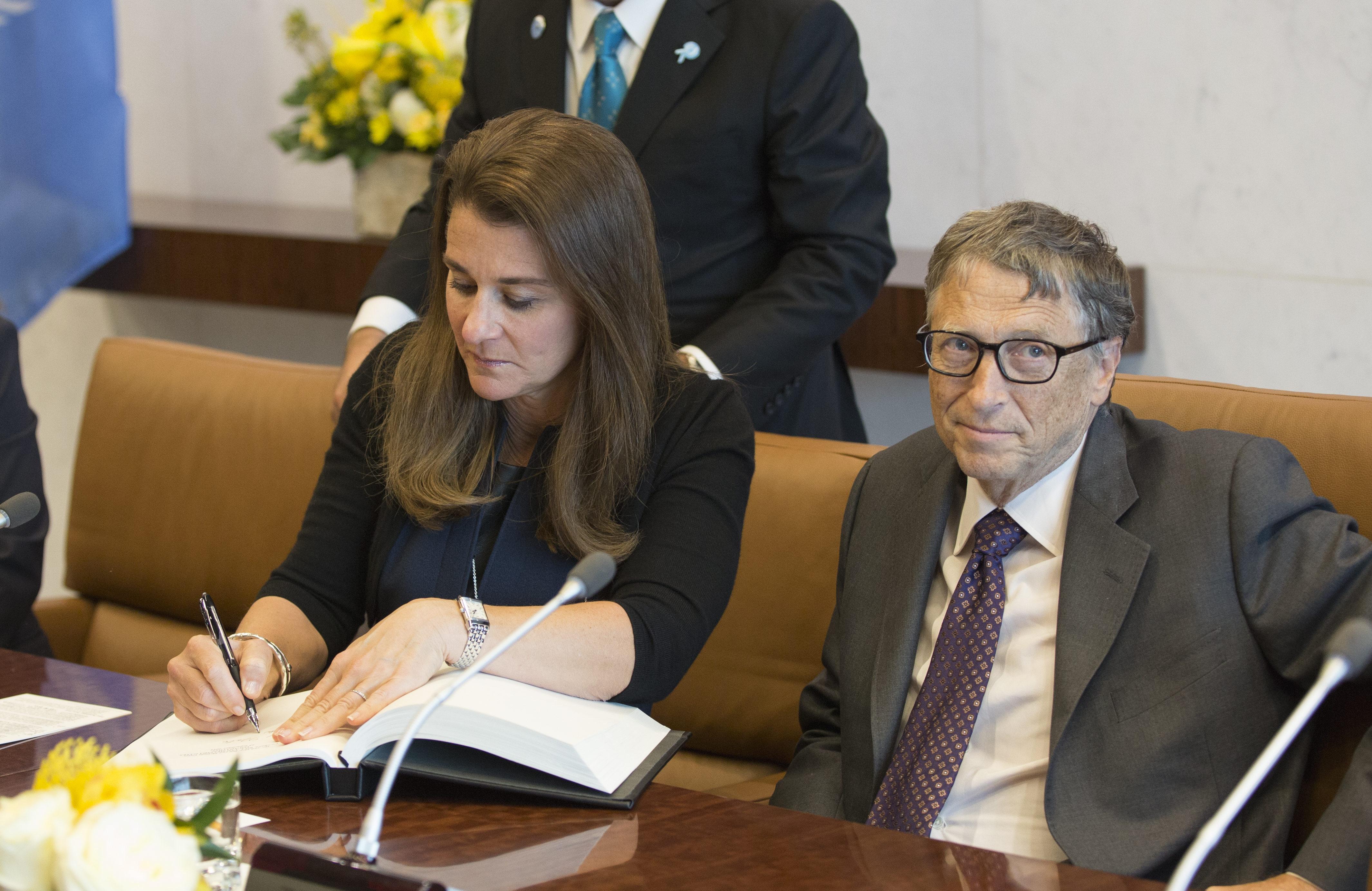 Мелинда и Билл Гейтс женаты с 1994 года. Фото: GLOBAL LOOK PRESS
