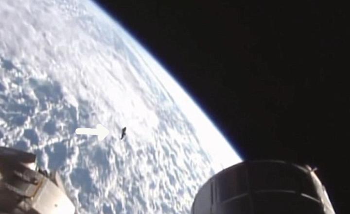 Вид на НЛО с другой точки.