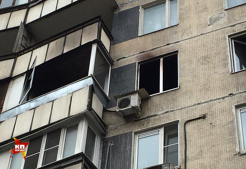 Сгоревшая квартира Максимовых. Фото: Виктор ГУСЕЙНОВ