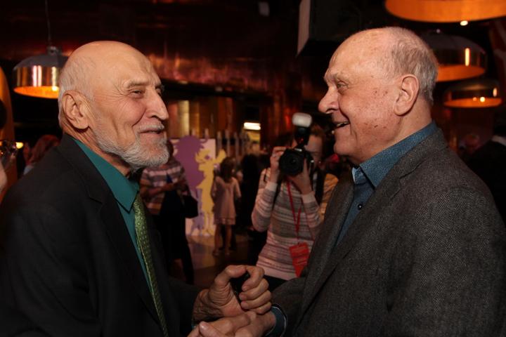 Николай Дроздов и Владимир Меньшов Фото: Лариса КУДРЯВЦЕВА