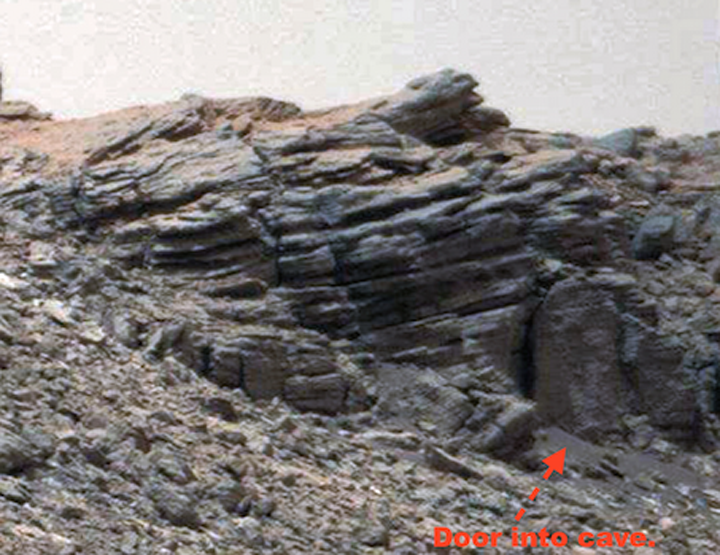 Каменный гроб на Марсе.