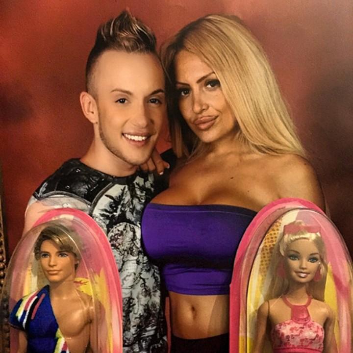 Даёшь каждой Барби по Кену! Фото: соцсети