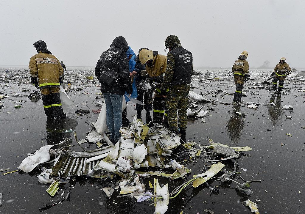 В результате крушения лайнера погибли все 62 человека, находившихся на борту. Фото: REUTERS