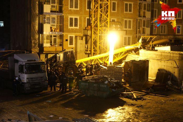 Ростехнадзор завершил расследование обстоятельств падения крана наулице Куйбышева вЕкатеринбурге