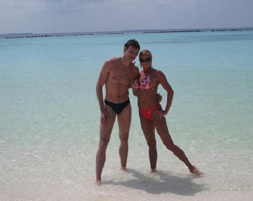 Анастасия Волочкова отдыхает на мальдивах вместе с другом Ринатом Арифулиным!