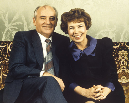 Михаил и Раиса Горбачевы прожили, на зависть многим, в мире и согласии 46 лет.