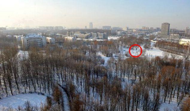 Парк у Кронштадтского бульвара в Головинском районе Москвы. Здесь хотят возвести церковь. Фото: Марина ВОЛОСЕВИЧ
