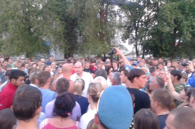 Объявление о сборе на площади распространяли через социальные сети