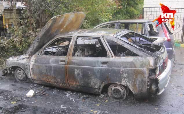 Среди сгоревщих авто иномарок Беловых нет.