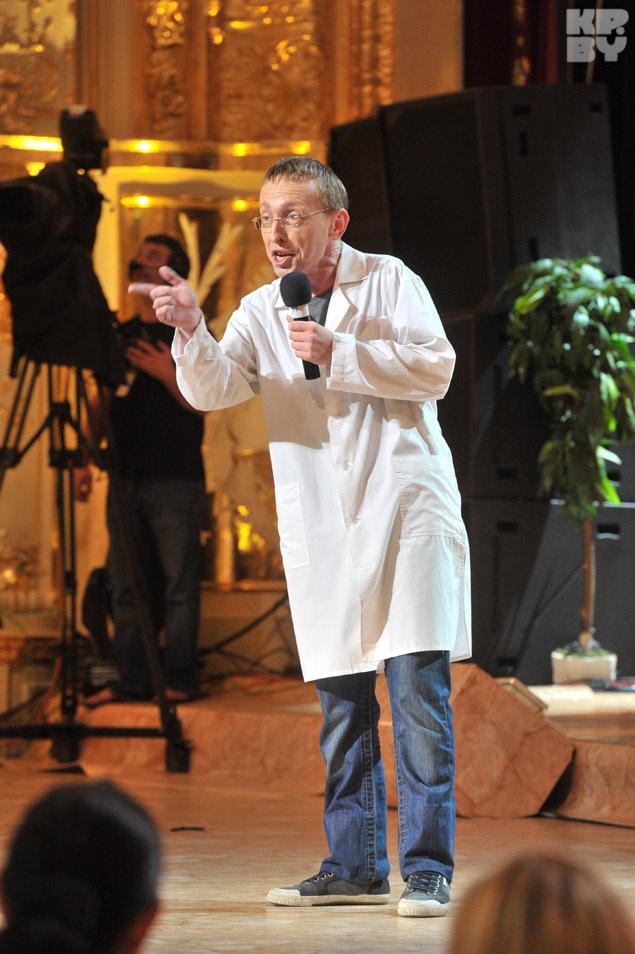 Иван Охлобыстин говорит, что мало чем похож на доктора Быкова. И самое главное - он не истеричка.