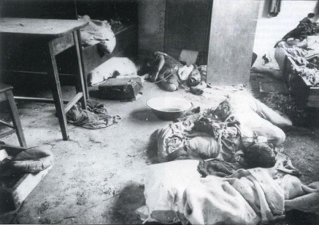 Это достаточно страшная страница, которая вошла в историю как «Волынская резня» 1943 года, когда вместе с жителями были уничтожены целые польские села