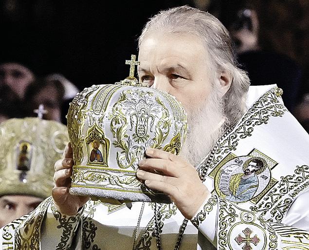Пять лет назад, 1 февраля 2009 года, Русскую православную церковь возглавил Патриарх Кирилл. Фото: Анатолий ЖДАНОВ
