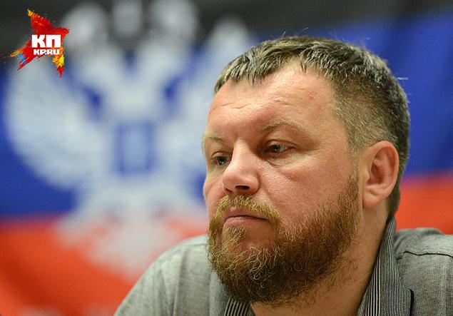 Андрей Пургин, главный интеллектуал Донецка, а ныне вице-премьер Донецкой народной республики Фото: РИА Новости