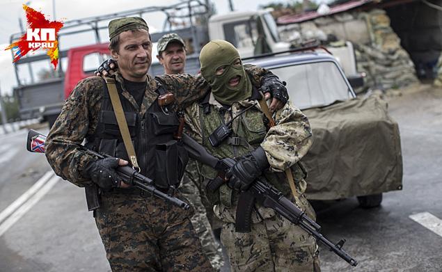 Категорически не желают мира ополченцы - они хотят двигаться дальше Фото: REUTERS