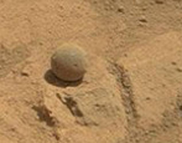 Так шар выглядит с близкого расстояния.