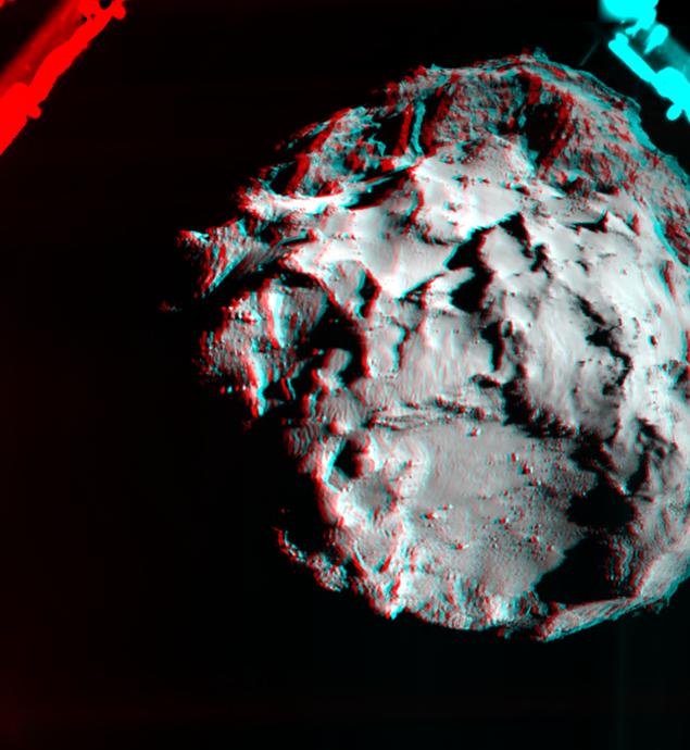 Объемное изображение кометы Фото: REUTERS
