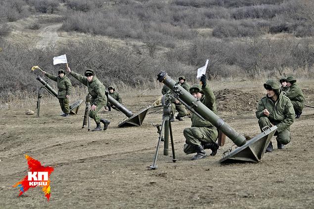 В украинской армии учения проводили на бумаге, сейчас - на полигоне. Фото: Анастасия МЕДЫНЦЕВА