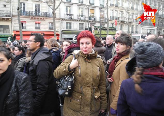 Наш спецкор, ветеран парижских демонстраций с десятилетним стажем, никогда не видела ничего подобного Фото: Дарья АСЛАМОВА