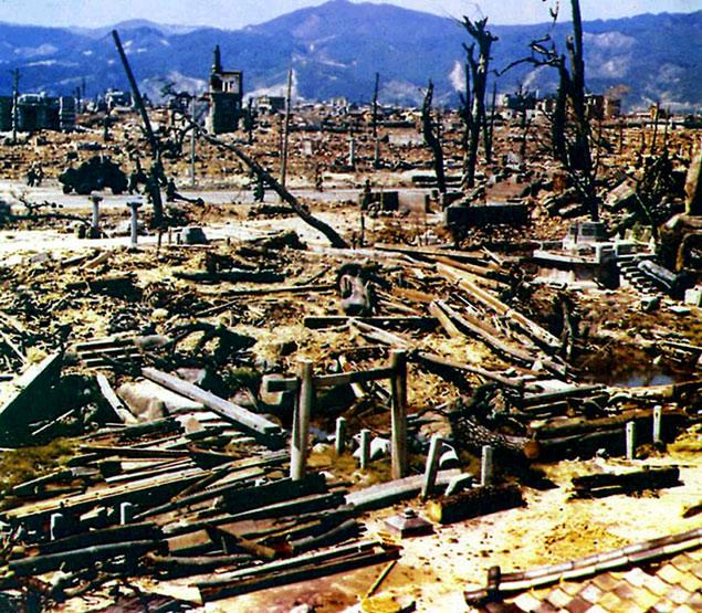 Хиросима после взрыва Фото: GLOBAL LOOK PRESS
