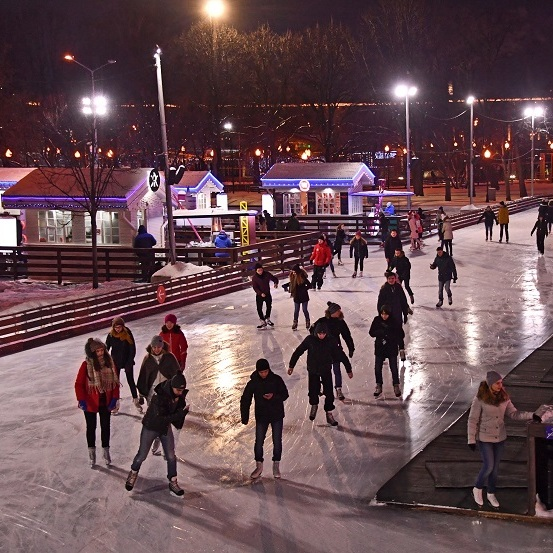 23 февраля в Парке Горького