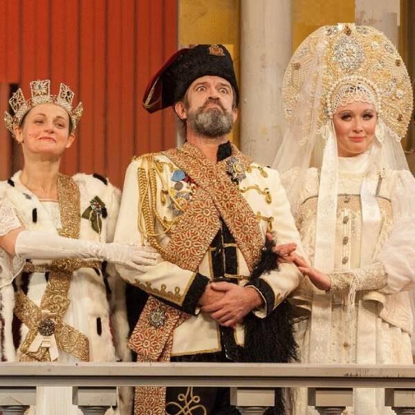 Спектакль «Ревизор» в Театре Табакова