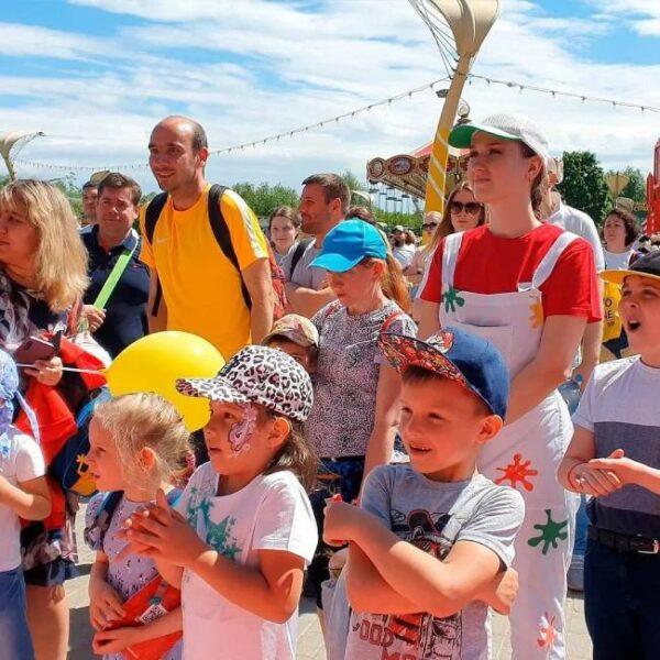 День защиты детей в парке «Сказка»