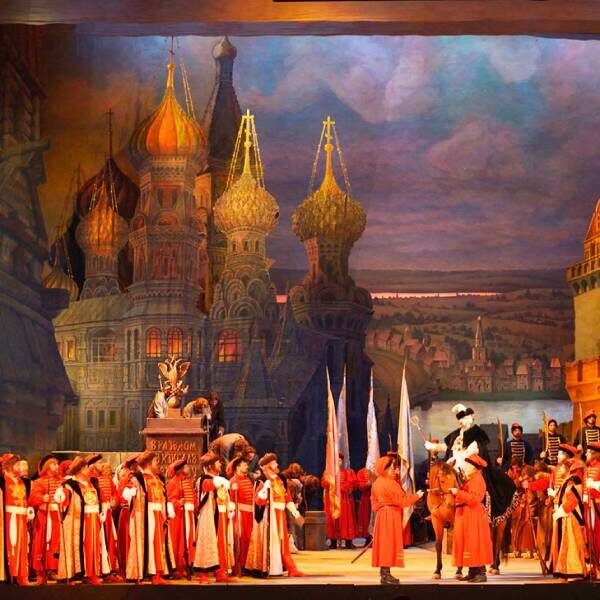 Опера «Хованщина» в Большом театре