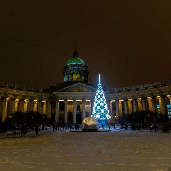 Как украсят Санкт-Петербург на Новый год