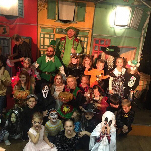 Спектакль «Хэллоуин для детей»