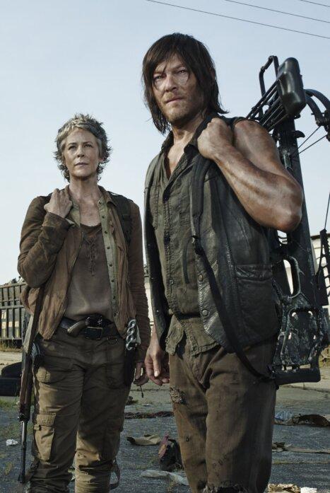 Ходячие Мертвецы: Дэрил и Кэрол 1 сезон
