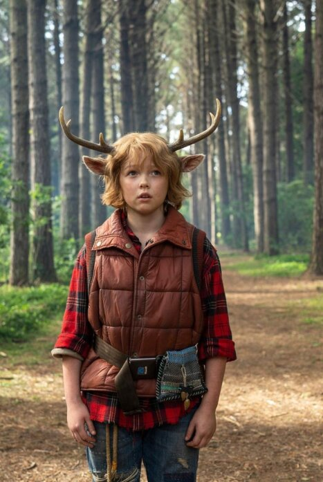 Sweet Tooth: Мальчик с оленьими рогами