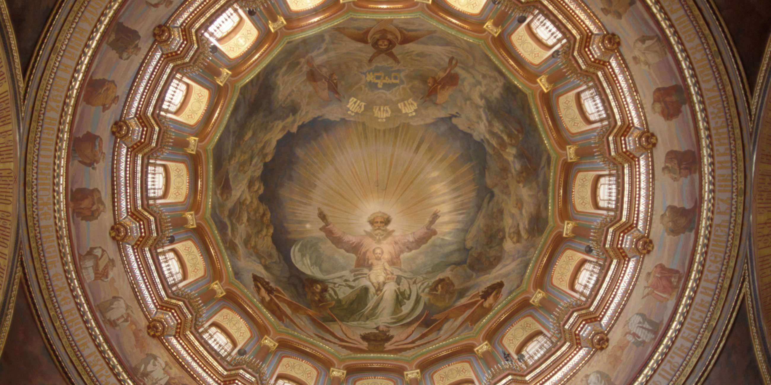 Росписи внутри храма занимают площадь 22 тысячи квадратных метров.Фото: globallookpress.com