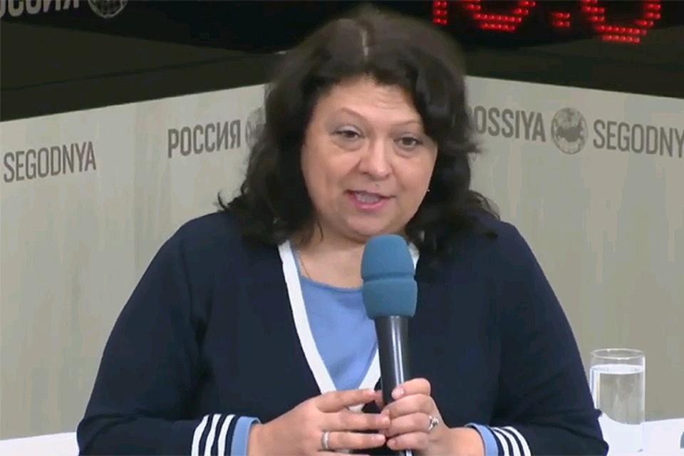 Обозреватель «Комсомольской правды» Галина Сапожникова.