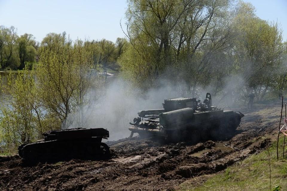 У американского танка, поднятого на поверхность, нет рубки