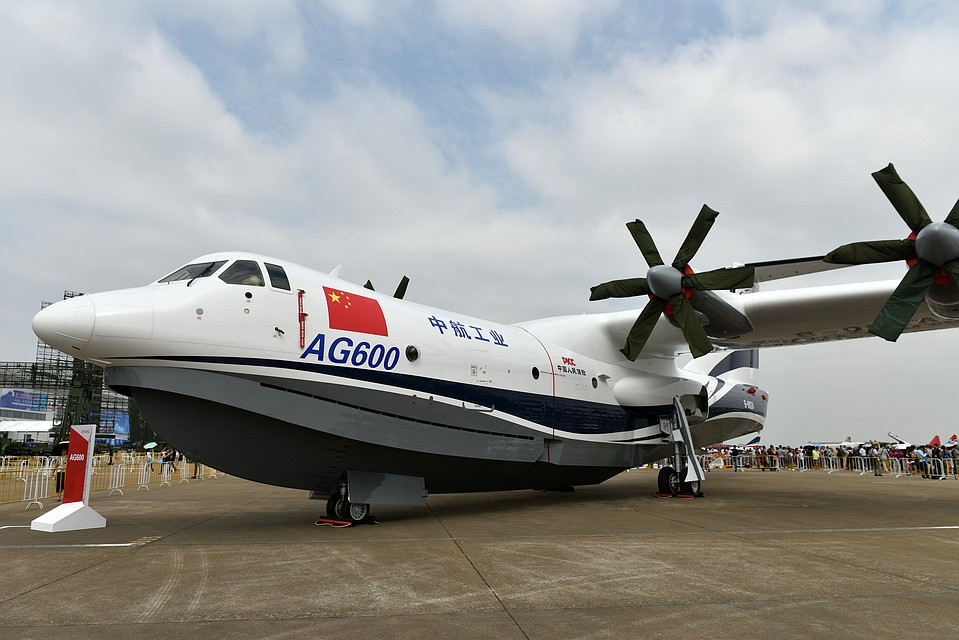 Китайский самолет-амфибия AG600