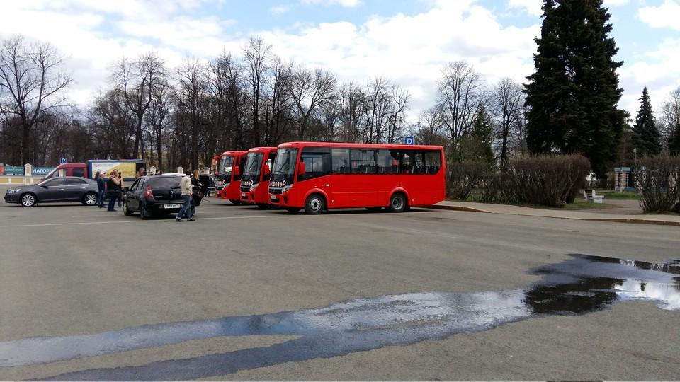 Новые туристические автобусы в Ярославле