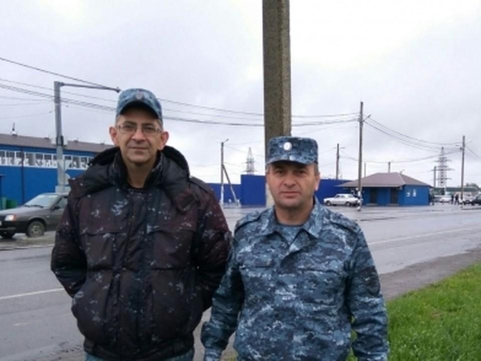 В Северной Осетии полицейские спасли пожилого жителя Чечни. Фото: МВД Северной Осетии