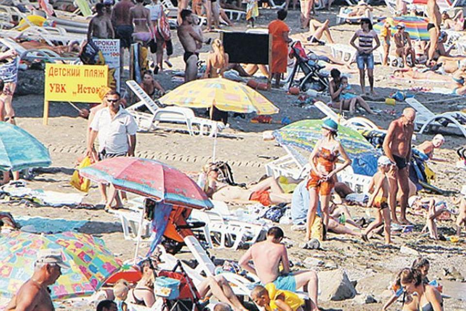 В прошлом году в Крыму отдохнули больше 5 миллионов человек.