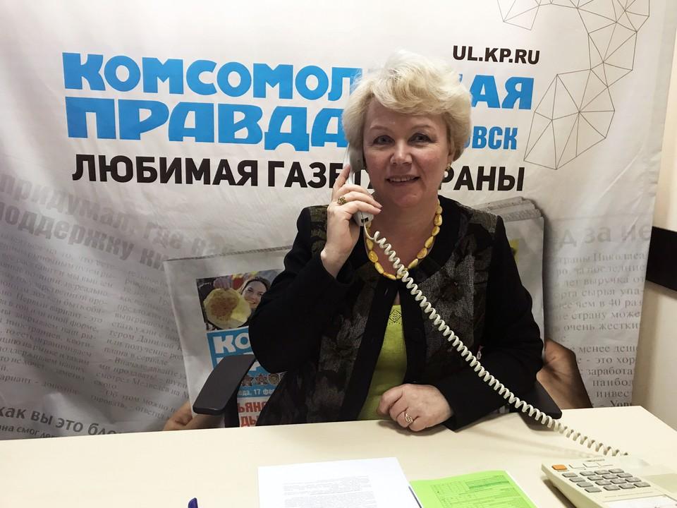 Елена Станиславовна больше часа отвечала на звонки, которых в этом году было просто не счесть!