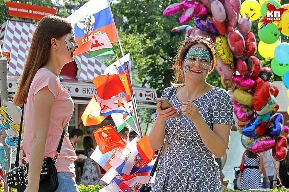 батут на день города стоимость в москве