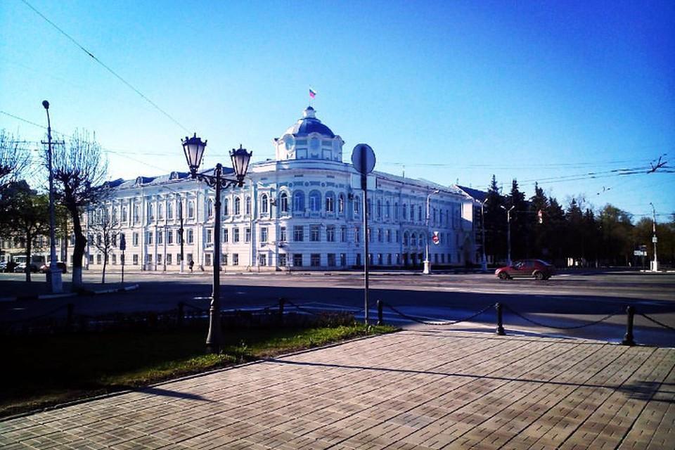 Здание правительства Тверской области.