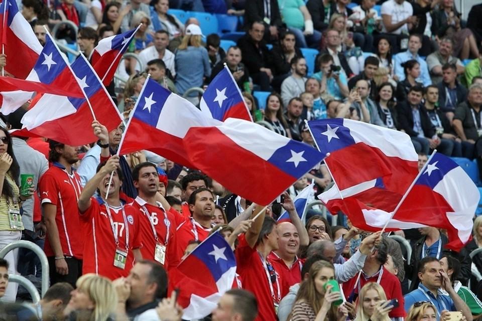 Чтобы поддержать свою сборную, чилийские болельщики проделали огромный путь
